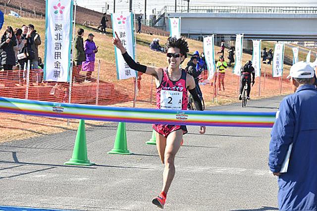 東京・赤羽ハーフマラソン 陸連男子優勝 黒田雄紀選手 #akabane21